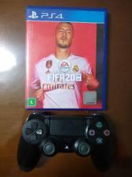 Controle PS4 + FIFA 20