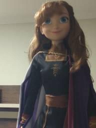 Boneca Anna (Frozen 2 /Disney) 80 cm em perfeito estado