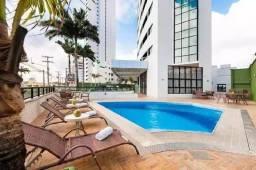 Flat de Luxo - Mobiliado em Ponta Negra 40m²