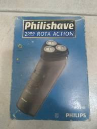 Barbeador Philips Philishave 2000 séries Rota Action HQ2405 luxo usado