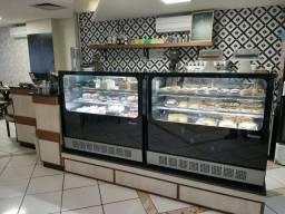 Cafeteria no centro