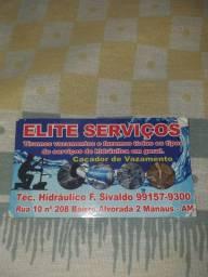 Caça vazamento. Elite serviços