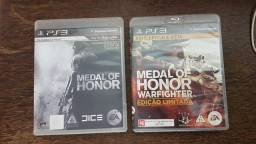 2 Jogos Medal Of Honor+ Warfighter - Ps3