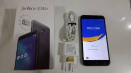 Zenfone Max 3 32GB Cinza Chumbo