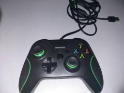 Controle de xbox one com fio knup