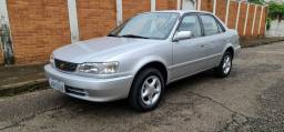 Corolla Seg 1.8 prata automático única dona.(Relíquia/Raridade/Colecionador 28.842km)