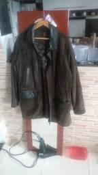 Jaqueta de camurça