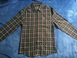 Camisa Xadrez Forum Tamanho 3