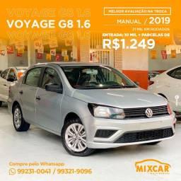 VW VOYAGE 1.6 G8 2019