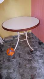 Vendo esta mesa tampo de madeira