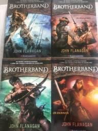 4 Livros Brotherband - John Flanagan