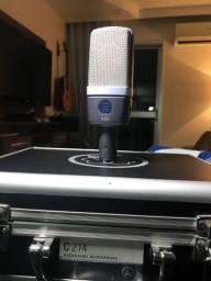 Microfone AKG C214 Condensador n neumann, Shure, mxl, audio technica, behringer