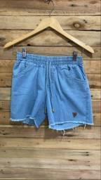 Short Jeans com elástico
