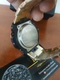 Relógio G-SHOCK todo em Aço inoxidável