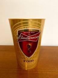 Copo Plástico Budweiser Final Copa do Mundo 2014