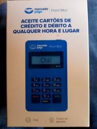 Máquina de cartão de crédito e débito mercado pago