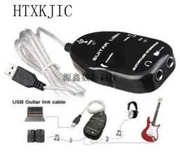 Guitar Link USB - Preto - Adaptador De Guitarra Para Pc Na Loja Omelete