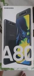Samsung A80 128gb _8gb aceita cartão ou trocar
