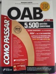 Livro Como passar na OAB, questões comentadas