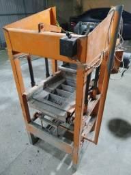 Máquina de fabricação de paver