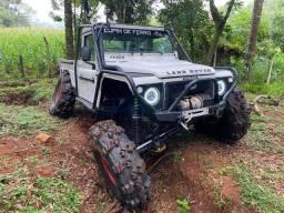 Land rover defender trilha