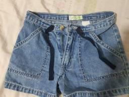 Short jeans infantil