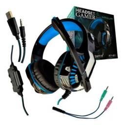 Fone Gamer Knup Kp-491 Pc/ps4/x One/p2 - Envio Imediato<br><br><br>