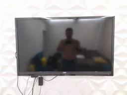 """TV 43"""" AOC  com Mancha na tela preço mto baixo"""