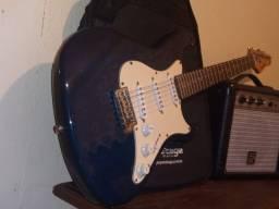 Guitarra Strato Strimberg + Cubo Staner Jammer 122 + Case