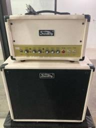 Amplificador valvulado para guitarra soundking semi-novo