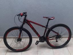 Bicicleta aro 29 hidráulica 21 Marchas Semi nova mais cadeado U-lock