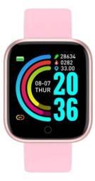 Relogio Smartwatch D20 Rosa