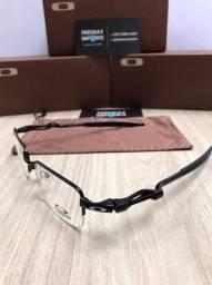 Óculos Oakley Crosshair black armação de alumínio