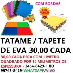 tatame / eva / piso / forro / placas