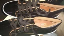 Sapato preto Sua Cia