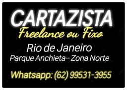 Cartazista Fixo ou Freelance