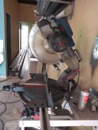 Máquina policorte de corta alumínio Bosch