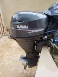 Motor Yamaha 20hp 4tempos o mais econômico.