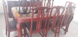 Mesa madeira 8 lugares
