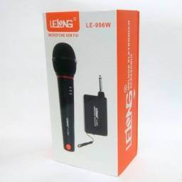 Promoção de microfone sem fio zerado