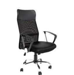 Cadeira Escritório Presidente Preta (Nova)