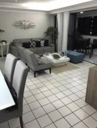65- Apartamento com 140m², 4 quartos, 2 vagas e área de lazer