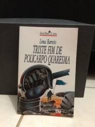Livro Triste Fim De Policarpo Quaresma, em perfeito estado.