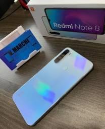 Redmi Note 8 Branco - 128GB (Completo) *6 Meses de Garantia