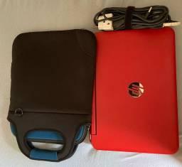 Vendo notebook HP Pavilion x360 2 em 1 Vermelho