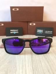 Óculos Oakley Latch squared violeta polarizado novo