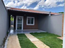 SI - Casa 2 quartos, 2 banheiros, 1ª parcela só em agosto, escritura grátis