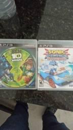 Jogos raros PS3 Sonic