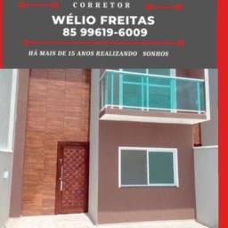 WF- Casa nova na região do Eusébio, vem conhecer !!