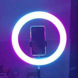 RING LIGHT RGB 26CM COMPLETO